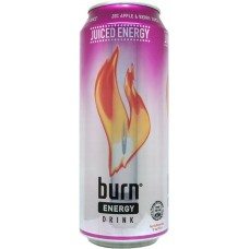 Burn Juiced Energy Apple & Berry, Sweden, 2009