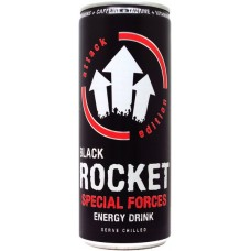 Black Rocket Special Forces Energy Drink, Germany, Czechia, Slovakia, 2013