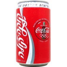 Coca-Cola / קוקה קולה, '96 קוקה-קולה המרענן הרשמי באולימ, Israel, 1996