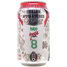 Coca-Cola light, FIFA World-Cup Germany 2006 - Esta lata apoya a México - 2/5 - 8, Pardo, Mexico, 2006