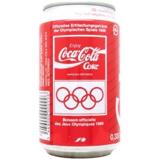 Coca-Cola Coke Olympische Spiele 1988 / Jeux Olympiques 1988, Switzerland