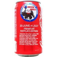 Coca-Cola Classic, Discover America - Frankfurt German-American Volksfest - 1989, United States, 1989