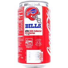 Coca-Cola Classic, NFL 1995 Collector Series - 1/30 - Buffalo Bills, United States, 1995