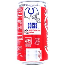 Coca-Cola Classic, NFL 1995 Collector Series - 6/30 - Indianapolis Colts, United States, 1995