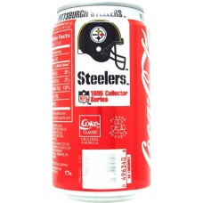 Coca-Cola Classic, NFL 1995 Collector Series - 12/30 - Pittsburgh Steelers, United States, 1995