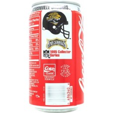 Coca-Cola Classic, NFL 1995 Collector Series - 15/30 - Jacksonville Jaguars, United States, 1995