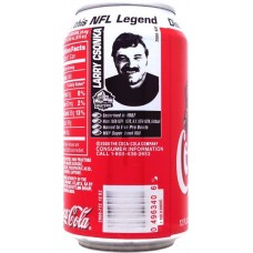 Coca-Cola Classic, Discover the Pro Football Hall of Fame an this NFL Legend - 1/14 - Larry Csonka, United States, 2000