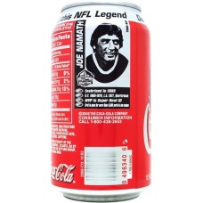Coca-Cola Classic, Discover the Pro Football Hall of Fame an this NFL Legend - 10/14 - Joe Namath, United States, 2000