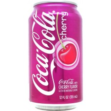 Coca-Cola cherry, United States, 2011
