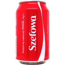Coca-Cola share a Coke with Szefowa, Poland, 2013