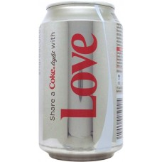Coca-Cola light, Share a Coke with Love, Belgium, Netherlands, Luxembourg, 2013