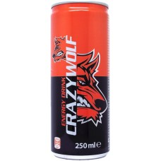 Crazy Wolf Energy Drink, Czechia, Croatia, Poland, Romania, Slovakia, Bulgaria, 2013