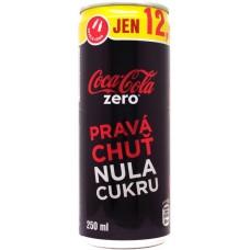 Coca-Cola zero, PRAVA CHUŤ NULA CUKRU - jen 12,00 Kč / len 0,49 € - Skvělá cena / Skvelá cena, Czechia, Slovakia, 2012