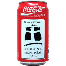 Coca-Cola Classic / Classique, Grand partenaire 350 ans Montréal fête, Canada, 1992