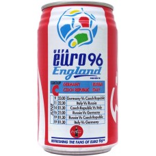 Coca-Cola Coke / โคคา โคล่า โค้ก, UEFA Euro 96 England - 3/5 - Group C: Germany, Russia, Czech Republic, Italy, Thailand, 1996