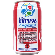 Coca-Cola Coke / โคคา โคล่า โค้ก, UEFA Euro 96 England - 5/5 - The Knock-out Stages, Thailand, 1996