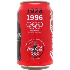 Coca-Cola, 1928-1996 - 68 Years of Olympic Support, France, Netherlands, 1996