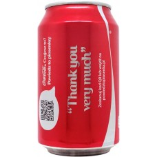 Coca-Cola Share a Coke with Thank you very much, Poland, 2014
