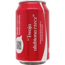 Coca-Cola Share a Coke with Twoja ulubiona rzecz, Poland, 2014