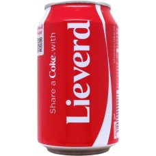 Coca-Cola Share a Coke with Lieverd, Netherlands, 2014