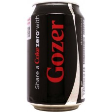 Coca-Cola zero, Share a Coke zero with Gozer, Netherlands, 2014