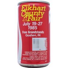 NEW Coke / NEW Coca-Cola Elkhart County 4-H Fair, USA, 1985