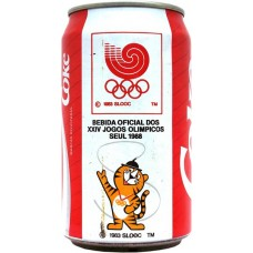 Coca-Cola CokeBebida Oficial dos XXIV Jogos Olimpicos Seul 1988, Portugal
