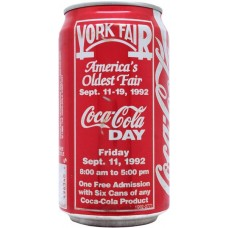 Coca-Cola Classic, York Fair - United States, 1992