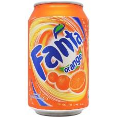 Fanta orange, Sweden, 2007