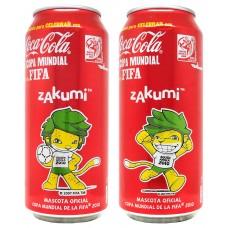 Complete Set Coca-Cola, Prepárate para CELEBRAR con Coca-Cola la Copa Mundial de la FIFA - zakumi, Mexico, 2010
