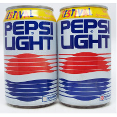 2 different Pepsi light Testival