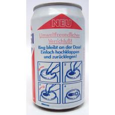 """Pepsi """"Neu Umweltfreundlicher Verschluß!"""", Germany, 1989"""